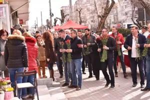 Primăvara începe cu multe flori de la social democrații olteni