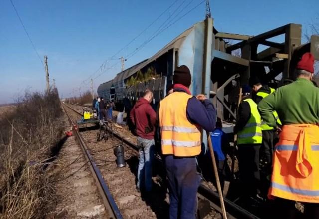 trafic-feroviar-reluat CFR a reluat circulația feroviară pe ruta Fărcașele- Drăgănești Olt