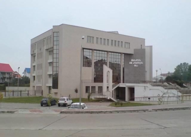 tribunalul-olt COVID -19, restricționează activitatea Tribunalului Olt