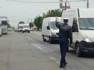 Mijloacele de transport în comun controlate de polițiști