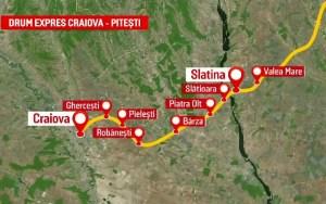 A fost contestat tronsonul 4 din Drumul Expres Craiova – Pitești