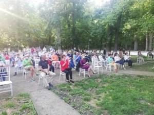 Concert extraordinar în parcul Constantin Poroineanu din Caracal