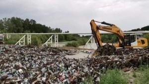 Imagini dezolante pe Râul Olteț