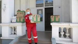 Crucea Roșie va da produse de igienă unei școli și grădinițe din Olt