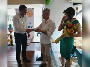Medicul Andreea Dumitrescu, noul președinte al Clubului Rotary