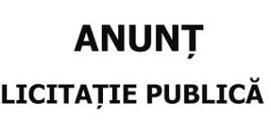 ANUNT LICITAȚIE PUBLICĂ III