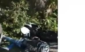 Un motociclist în vârstă de numai 25 de ani a murit într-un accident rutier
