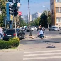 Accident rutier în centrul Slatinei