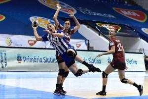 Handbal: Rapid București - CSM Slatina 19-19