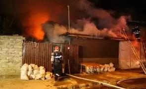 Un bărbat  a murit într-un incendiu