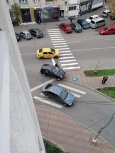 Alcoolul la volan! Un slătinean a lovit un indicator.