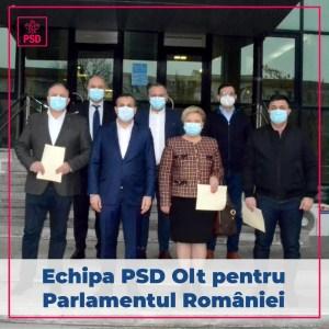 Parlamentarii de Olt și-au ridicat mandatele