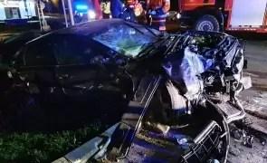 Accident rutier mortal  - trei persoane rănite, o femeie a murit