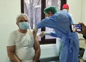 """Primarul Caracalului a spus """"da"""" vaccinării"""