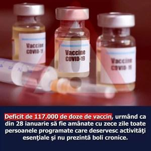 Siminica Mirea: ''Compromiterea campaniei de vaccinare va întârzia revenirea  la starea de normalitate''