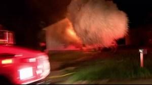 Explozie puternică într-o casă: o femeie a murit, iar un bărbat este grav rănit