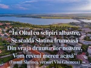 Slatina la ceas aniversar- mesajele parlamentarilor de Olt
