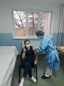 165 de cadre medicale s-au vaccinat anti-COVID în prima zi, în Olt