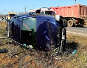 Caracal: Accident rutier soldat cu un mort  și răniți, printre care un copil de 11 luni