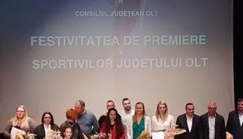 premiere Cine sunt sportivii premiați de CJ Olt în 2021?