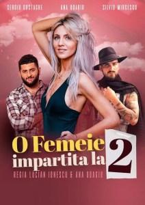"""Spectacolul """"O femeie împărțită la 2"""", două reprezentații la Centrul Cultural """"Eugen Ionescu"""" Slatina"""