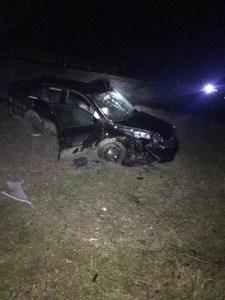 Cinci răniți în urma unui accident rutier grav