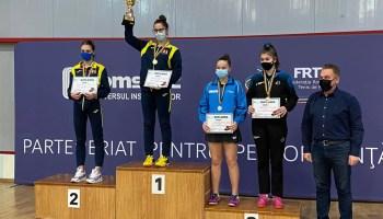 csm Adela Strună a obținut o nouă medalie