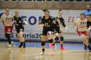 Handbal: CSM Slatina, victorie în fața celor de la CS Măgura Cisnădie