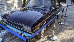 Mașina primită de Nicolae Ceaușescu de la Șahul Iranului s-a vândut cu 95.000 de euro