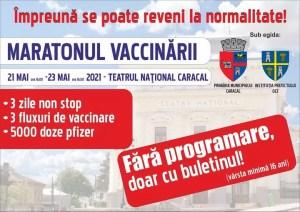 Vaccinul anti-COVID, bilet de intrarea la teatru pentru caracaleni