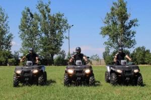 Inspectoratul de Jandarmi Județean Olt a primit trei ATV-uri