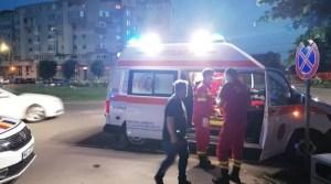 Accident GRAV -Echipajele de descarcerare au intervenit urgent