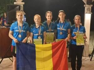 Andreea Jifcu-triplă performanță la Campionatele Balcanice de Juniori