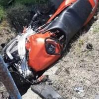 Un tânăr motociclist a murit la Gura Padinii