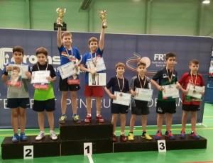 Sportivii slătineni pe podium la Campionatul Național individual juniori III