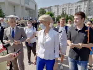 Raluca Turcan i-a consiliat pe olteni să își găsescă un loc de muncă