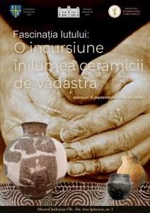 """Muzeul Județean Olt va găzdui expoziția """"FASCINAȚIA LUTULUI: O INCURSIUNE ÎN LUMEA CERAMICII  VĂDASTRA"""""""