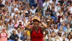 Emma Răducanu câștigă US Open 2021 și scrie istorie