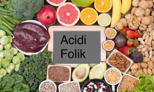 Të mirat shëndetësore të Acidit folik