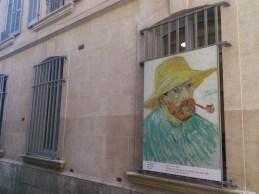 """Fereastră a Fundației """"Van Gogh"""", Arles"""
