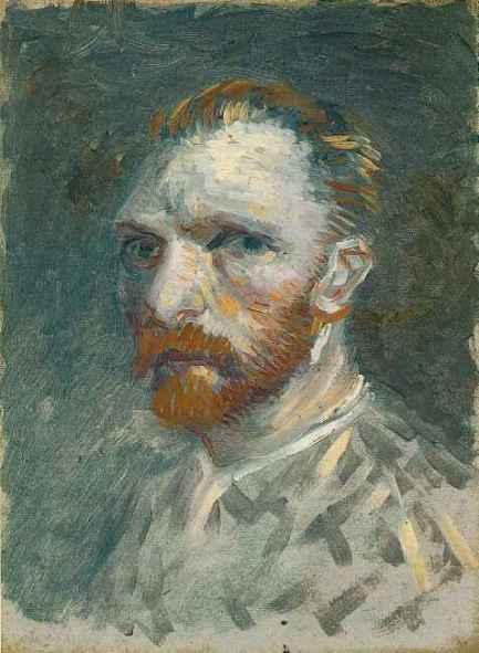 Van Gogh, autoportret din 1887 (Amsterdam, Van Gogh Museum)