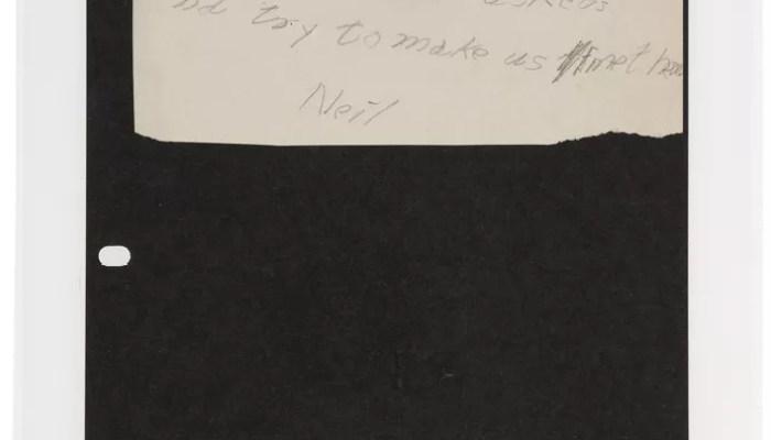 """Handgeschriebener Brief an den Osterhasen VERKAUFT 4.000 $ - Heritage Auctions_1.jpg """"class ="""" img-responsive portrait """"data-caption ="""" Ein handgeschriebener Brief an den Osterhasen, möglicherweise der früheste signierte Artikel, der je von Neil Armstrong zum Preis von 4000 Dollar angeboten wurde Heritage-Auktionen."""