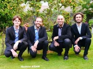les-mesnuls_concert-ritmy_Quatuor A'Dam 1