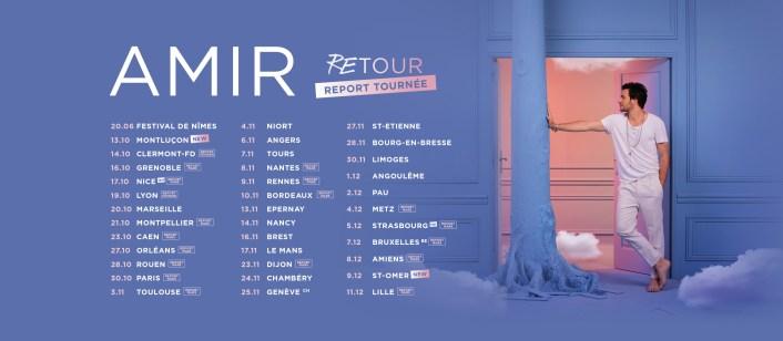 Report tournée ReTour Amir