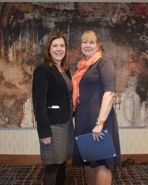 Lisa Rankin and Erin Golembewski of the Northeastern Association of Graduate Schools
