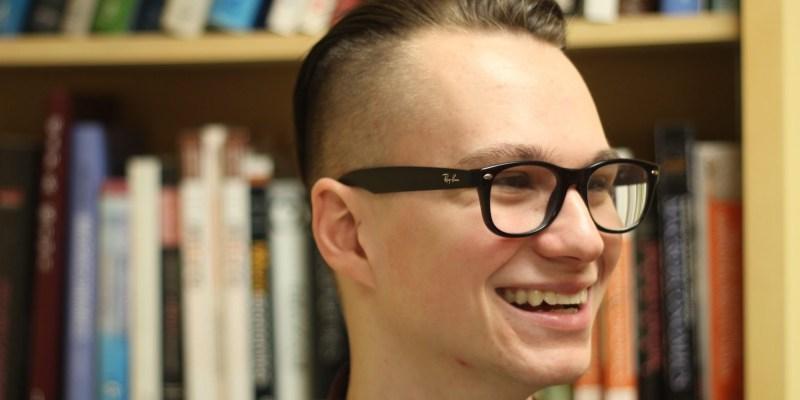 Recent economics graduate Devin Drover