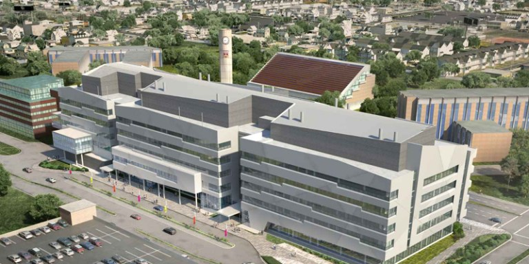 Artist rendering of new Core Science Facility