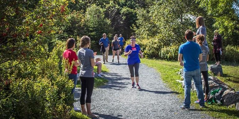 Memorial participates in annual Terry Fox Run