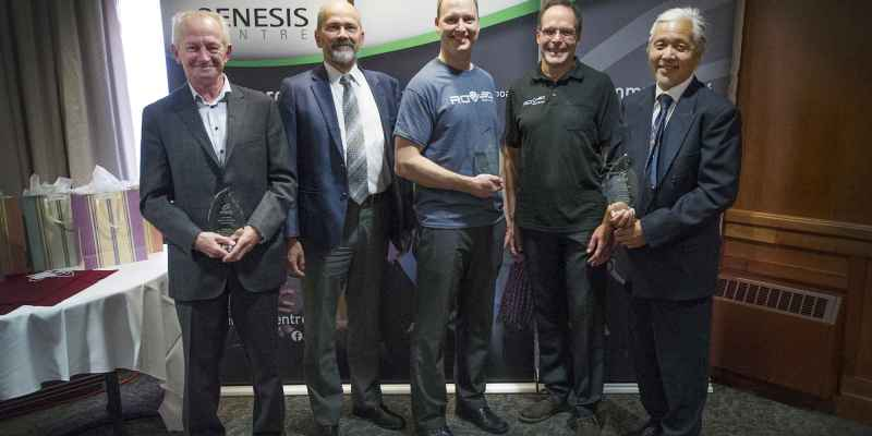 Brian Terry; Dr. Nick Krouglicof; Dr. Sam Bromley; Dr. Richard Charron; and Dr. Siu O'Young