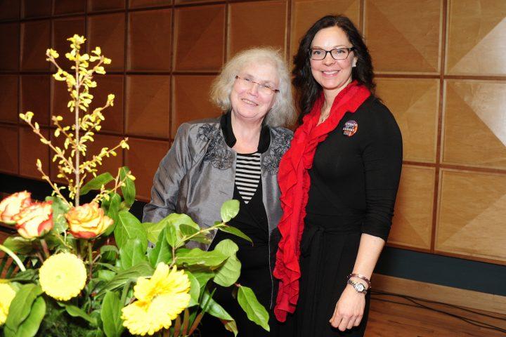 SPARKS founder Mary Dalton and current chair Dr. Jennifer Lokash